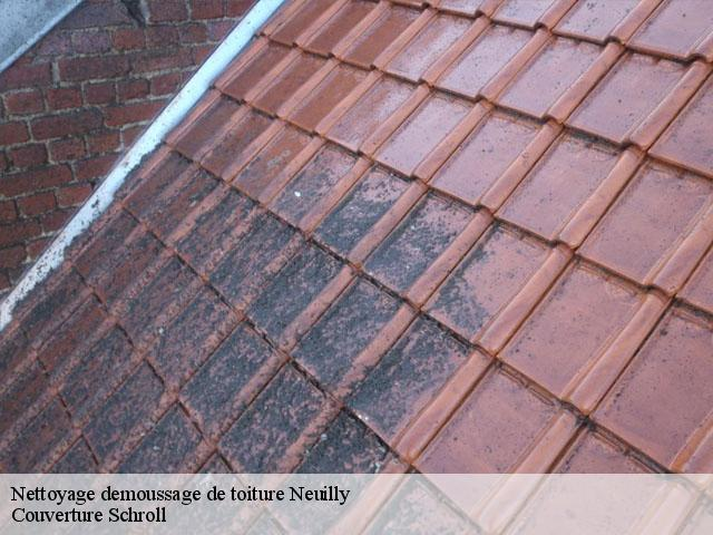 Nettoyage demoussage de toiture  neuilly-58420 Couverture Schroll